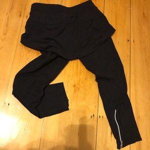 Lululemon go go crop skirt leggings